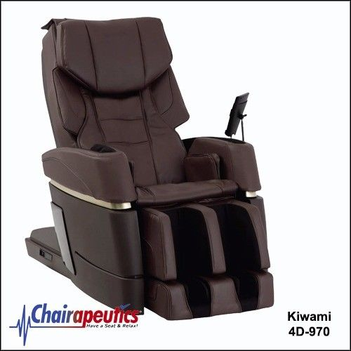 SALE! Kiwami Brown 4D-970 Massage Chair Japan Touch Screen Bed Position