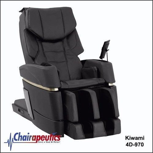 SALE! Kiwami Black 4D-970 Massage Chair Japan Touch Screen Bed Position