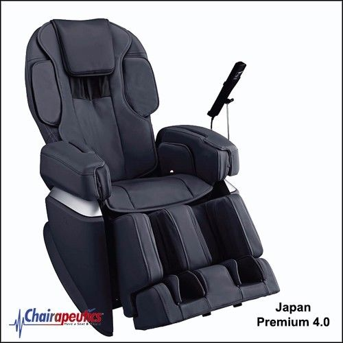 Osaki Black OS-Pro Japan Premium 4.0 4D Massage Chair Double Heater