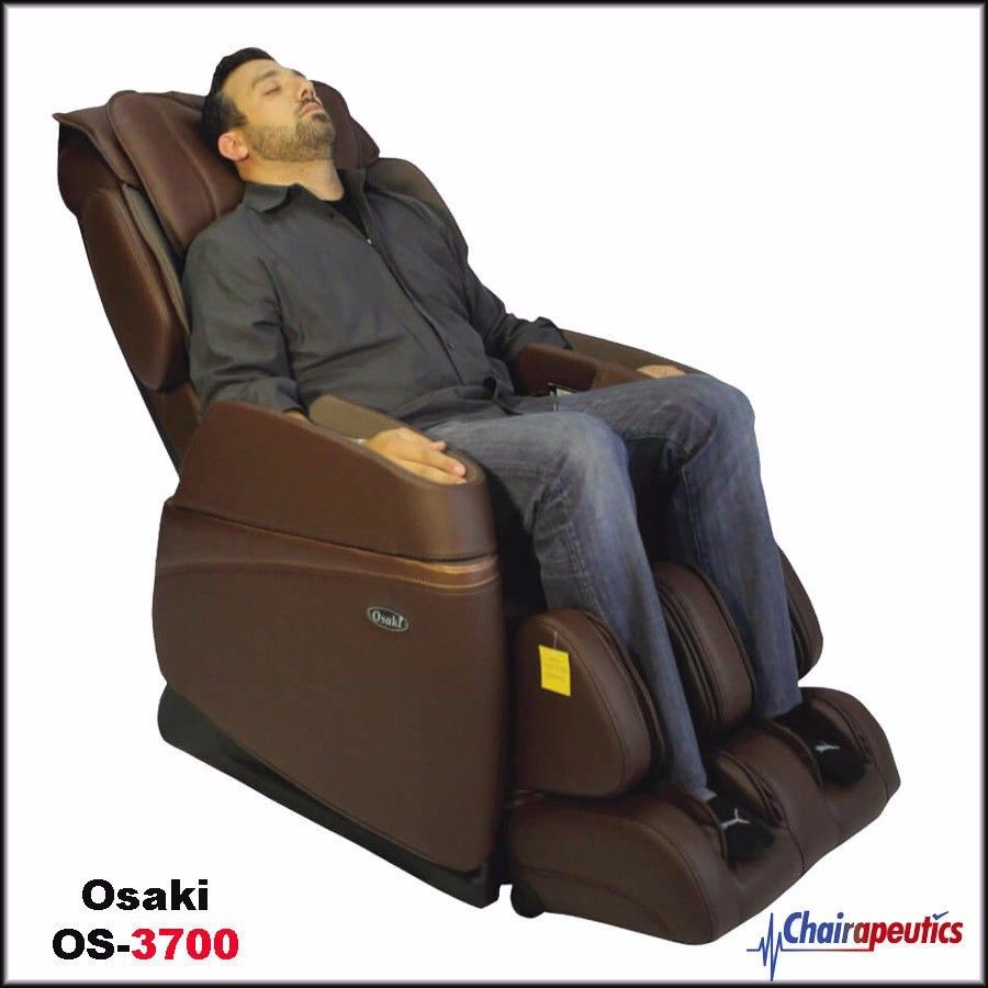 Osaki OS-3700 Brown Buttocks Arm Foot Roller Heating Massage Chair