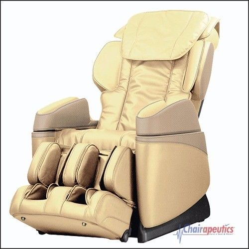 Osaki OS-3700B (Cream) Buttocks Foot Roller Lumbar Heat Massage Chair