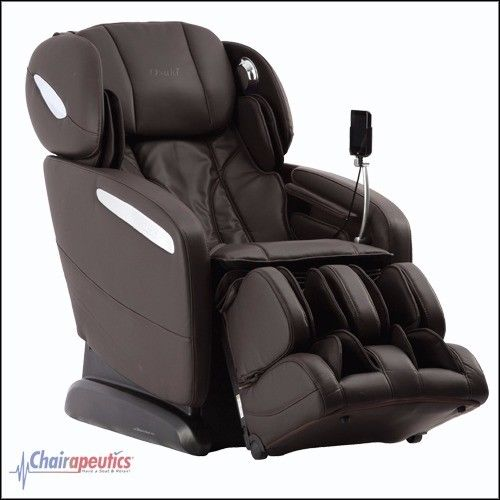 Osaki OS-Pro Maxim Brown SL-Track Heated ZeroG Massage Chair Touch Screen