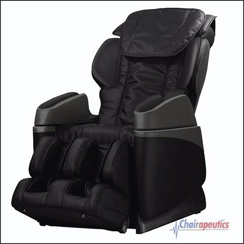 Osaki OS-3700B (Black) Buttocks Foot Roller Lumbar Heat Massage Chair