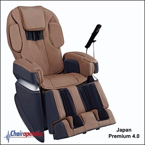 Osaki Brown OS-Pro Japan Premium 4.0 4D Massage Chair Double Heater