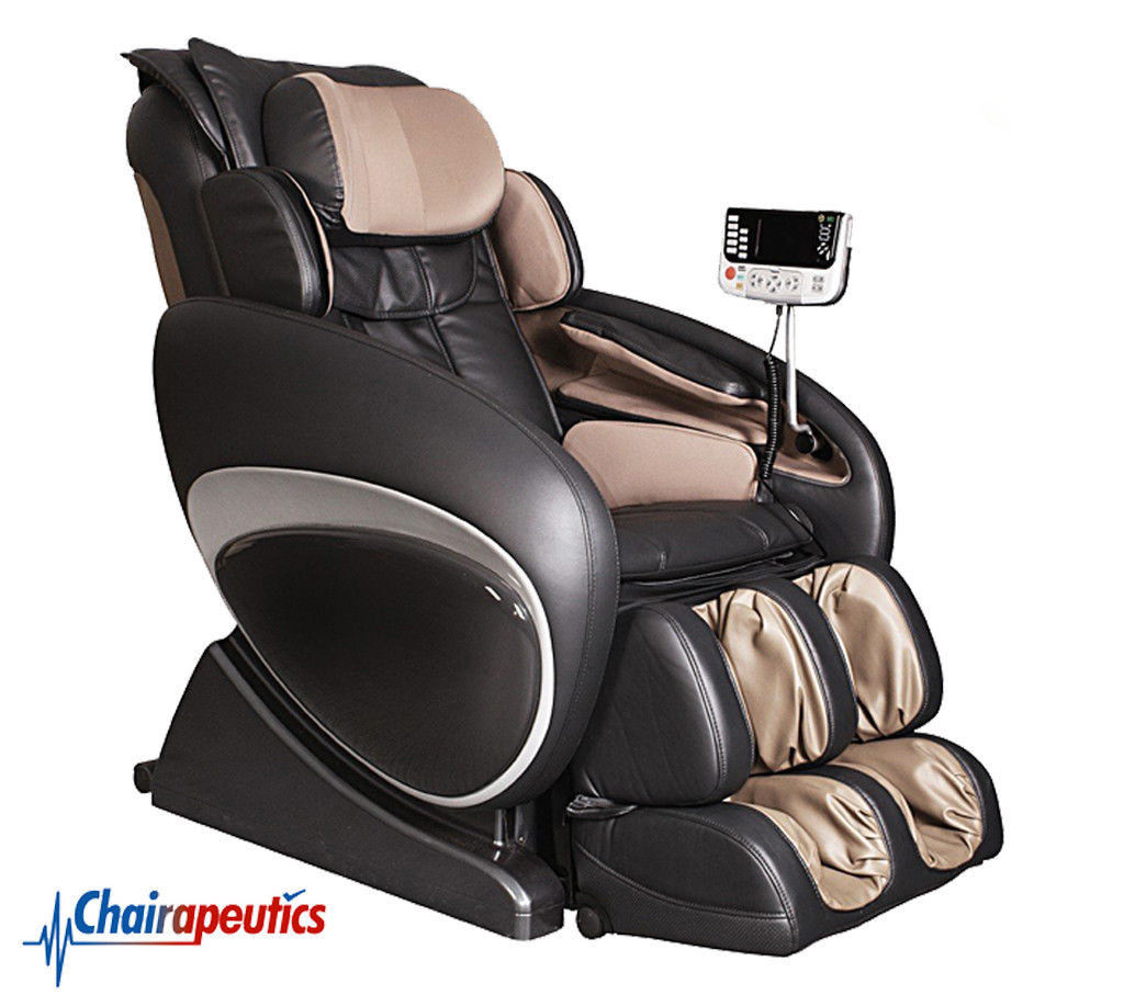Osaki Black OS-4000 ZERO GRAVITY Recliner Heat Therapy Massage Chair