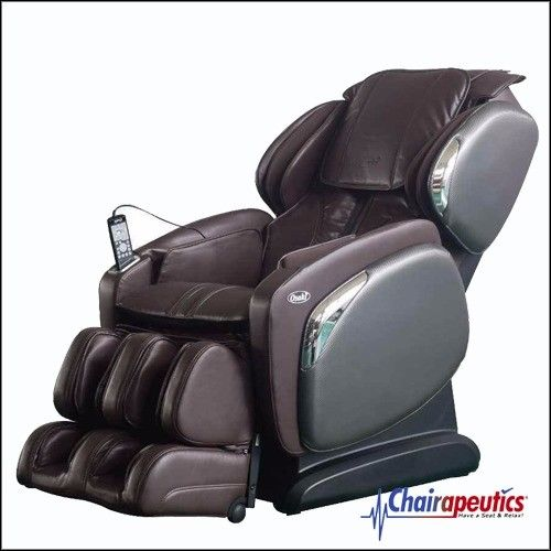 Osaki OS-4000CS Brown Zero Gravity L-Track Heated Massage Chair $300 Rebate!