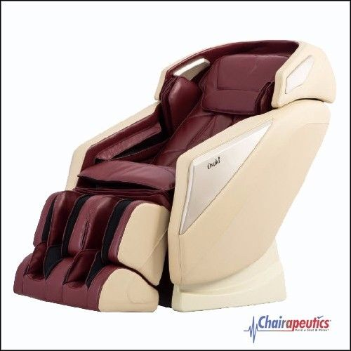Osaki OS-Pro Omni Burgundy L-track Zero-Gravity Massage Chair Heat Therapy