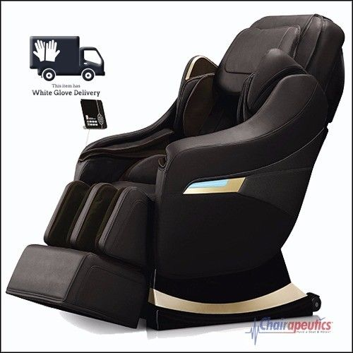 Titan Executive Black S-Track Zero G Heat Massage Chair White Glove Delivery!