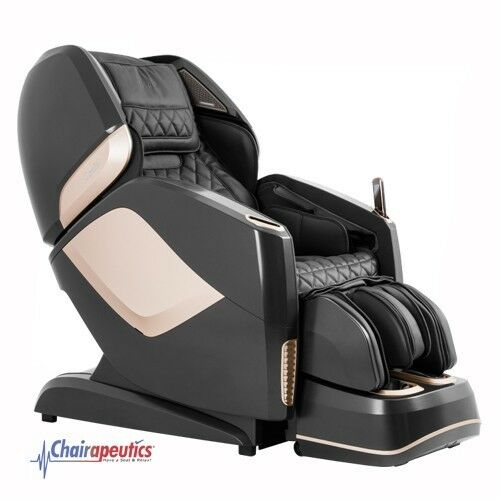 Black Osaki OS-Pro Maestro L&S Track Zero-G Heated Rollers Real 4D Massage Chair