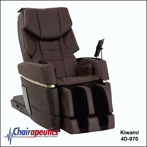 Kiwami Brown 4D-970 Massage Chair Japan Touch Screen Bed Position - SALE!