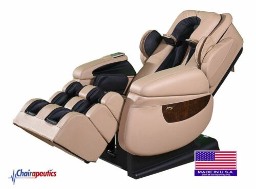 Luraco Cream i7 Plus 3D Zero Gravity Massage Chair w/ White Glove Delivery!