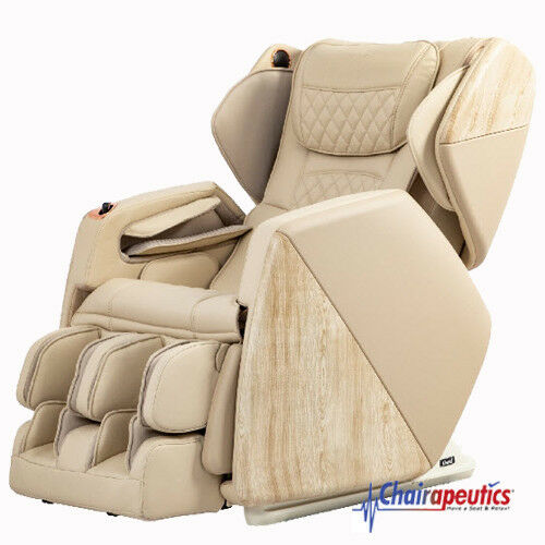 Cream Osaki OS-Pro Soho 4D Zero Gravity Space Saving Massage Chair - New Model!