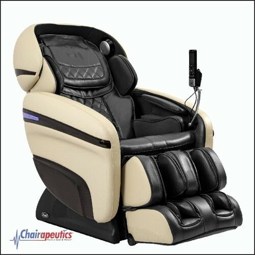 Osaki Cream/Black OS-3D Pro Dreamer 2 Stage Zero Gravity 3D Massage Chair