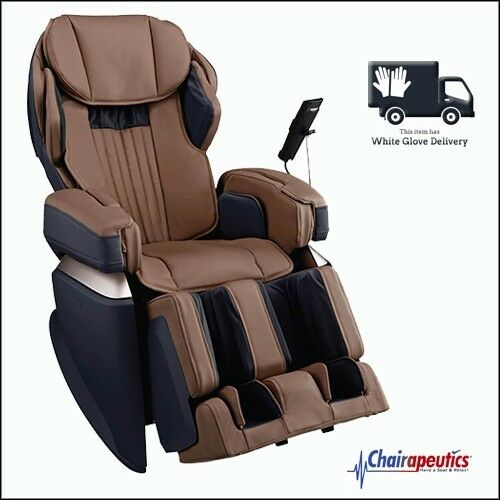 Osaki Brown OS-Pro Japan Premium 4S Massage Chair Double Heat + White Glove