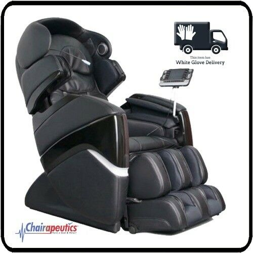 Osaki OS-PRO CYBER Black Zero-G Foot Roller Massage Chair White Glove Delivery