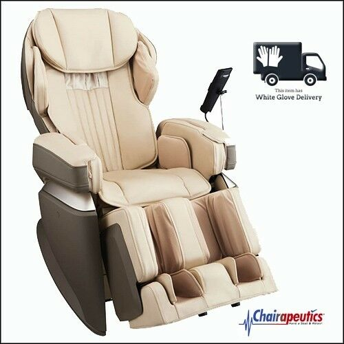 Osaki Cream OS-Pro Japan Premium 4S Massage Chair Double Heat + White Glove Del
