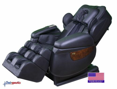 Luraco Black i7 Plus 3D Zero Gravity Massage Chair w/ White Glove Delivery!