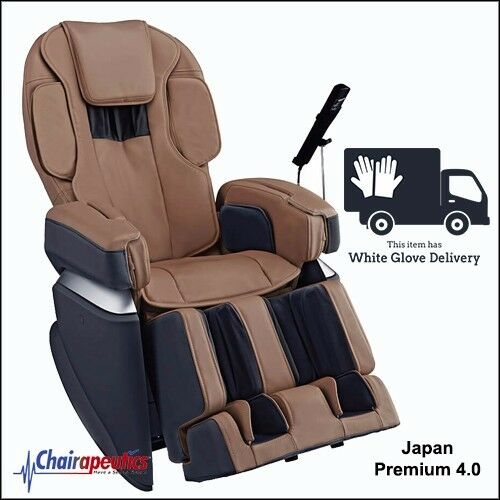 Osaki Brown OS-Pro Japan Premium 4.0 4D Massage Chair With White Glove Delivery