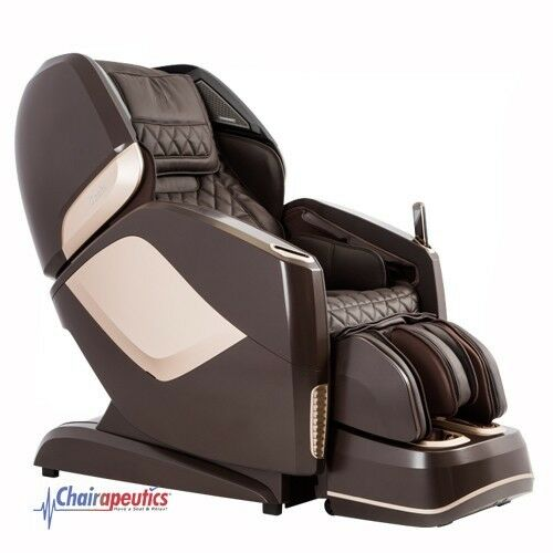 Brown Osaki OS-Pro Maestro L&S Track Zero-G Heated Rollers Real 4D Massage Chair