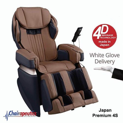 Osaki Brown OS-Pro Japan Premium 4S Massage Chair White Glove Delivery