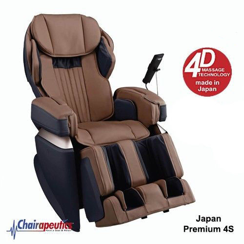 Osaki Brown OS-Pro Japan Premium 4S Massage Chair Double Heat Touch Screen