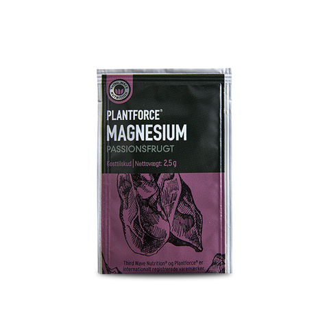Plantforce® Magnesium Passionsfrugt 2.5g