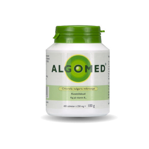 ALGOMED® Chlorella 100g (400 tabletter á 250mg)