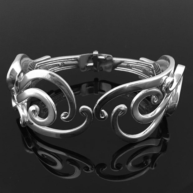 Abstract 5 Double Fork Bracelet 1