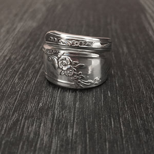Queen Bess Spoon Ring