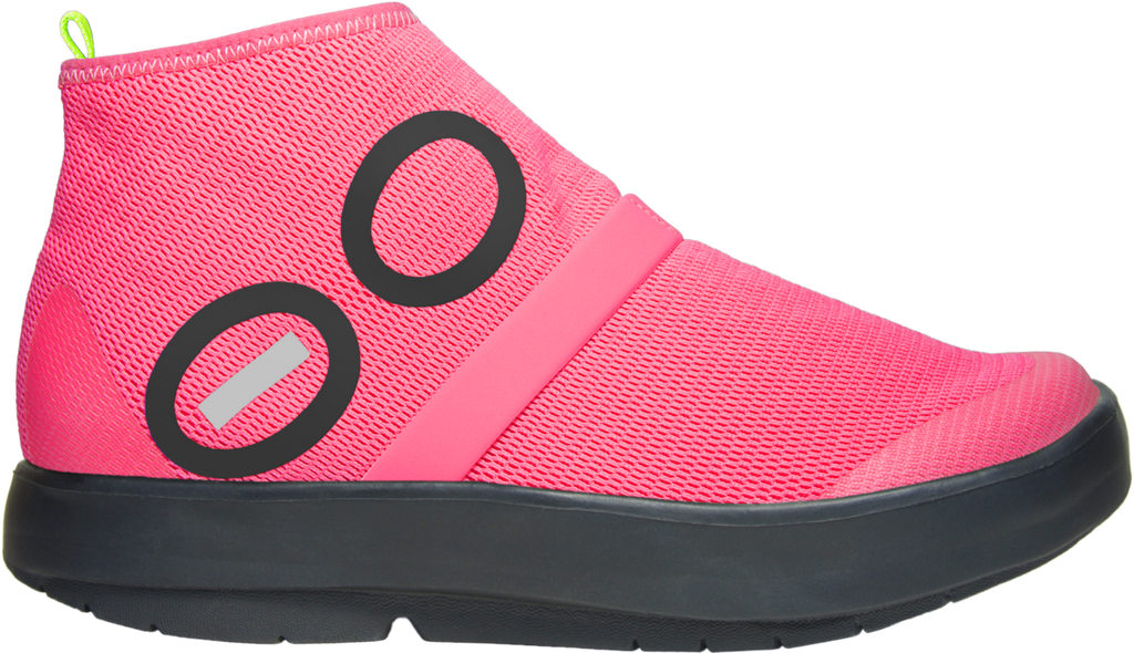 Women's OOmg High - Black & Pink