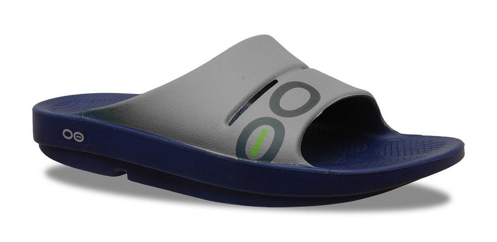 Women's OOahh Sport Slide Sandal - Navy & Steel