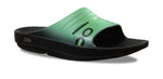 Women's OOlala Slide Sandal - Black & Seafoam Green