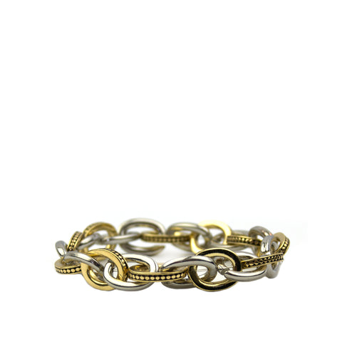 Embossed Link Stretch Bracelet - Impulse Jewelry and Accessories