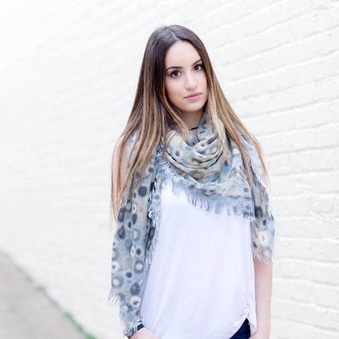 Printed Scarf - Impulse Jewelry and Accessories