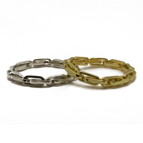 Paperclip Chain Link Stretch Bracelet - Impulse Jewelry and Accessories