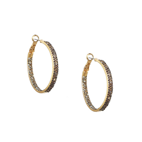 Sparkle Hoops - Impulse Jewelry and Accessories