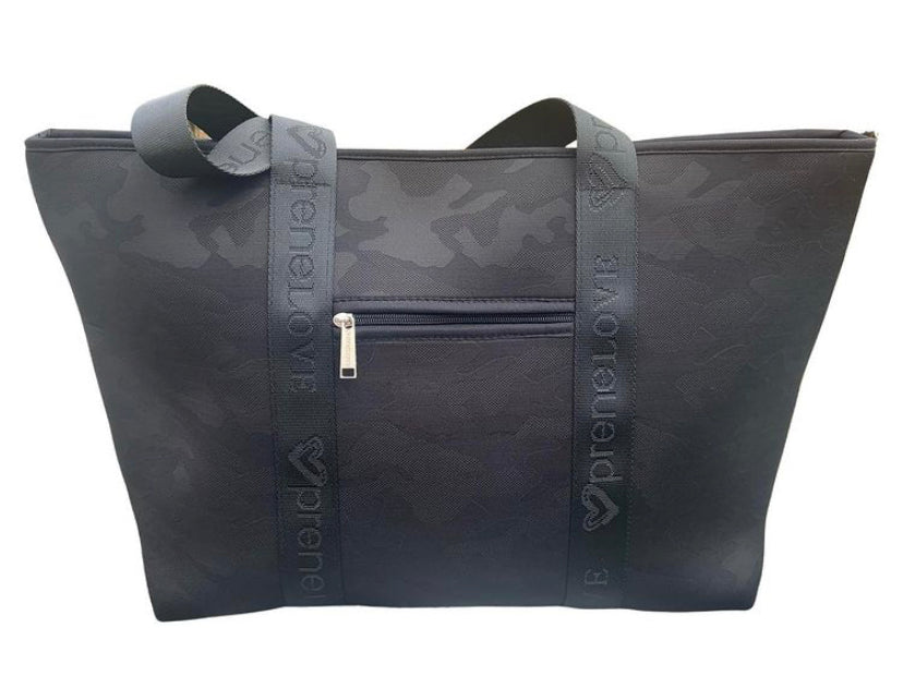 Weekender Neoprene Black Camo Tote - Impulse Jewelry and Accessories