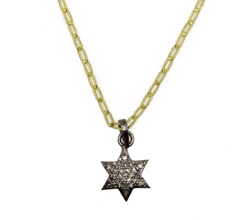 Diamond Mini Star Necklace - Impulse Jewelry and Accessories