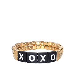 XOXO Tile Stretch Bracelet - Impulse Jewelry and Accessories