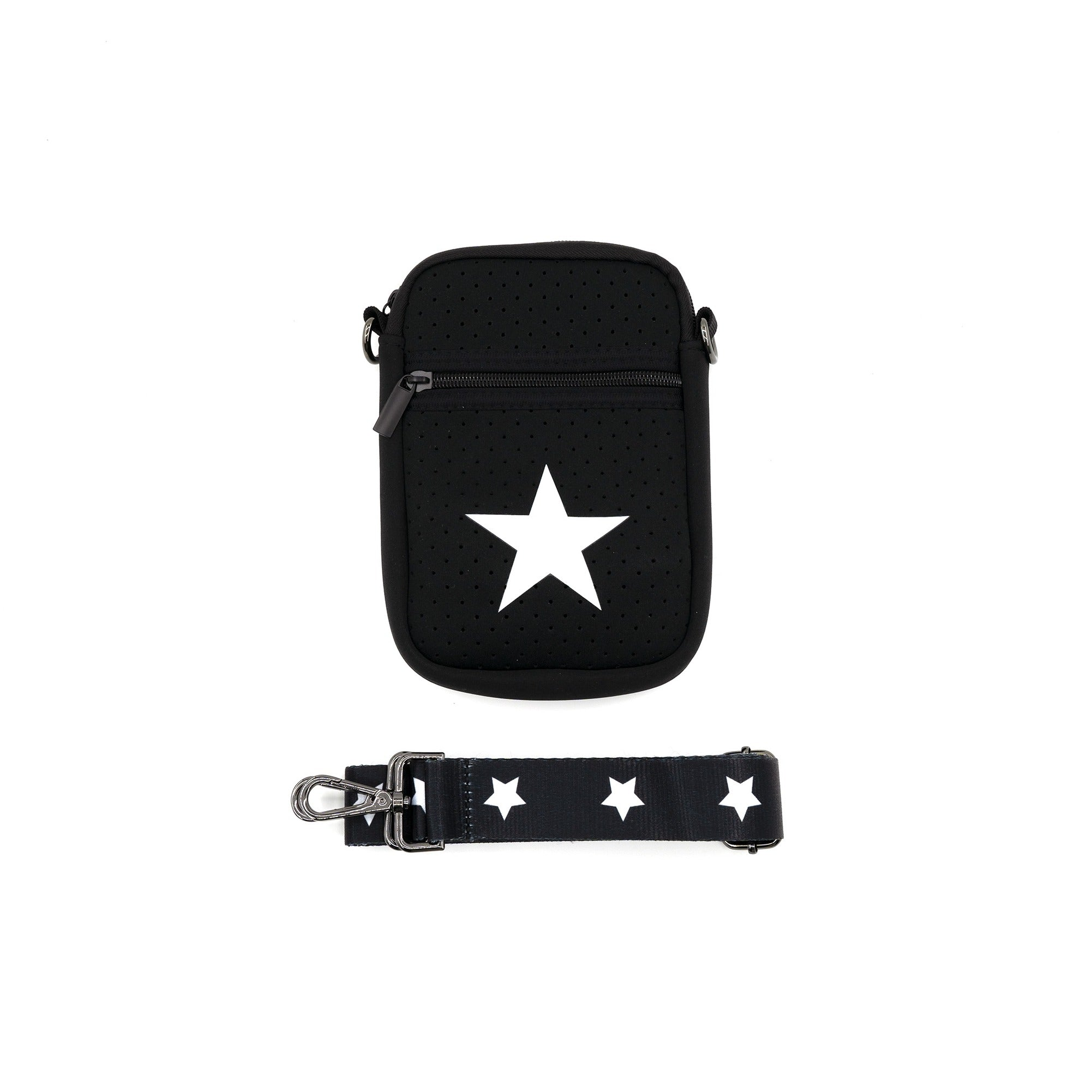Neoprene Cross Body Cell Phone Bag - Impulse Jewelry and Accessories