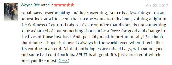 Waynr Goodreads review