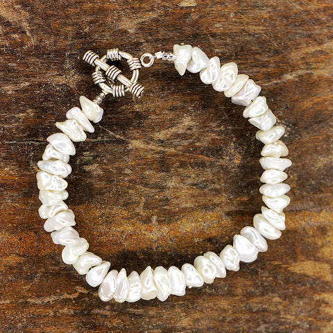 Fresh Water Pearl Bracelet.