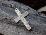 Large Sterling Silver Cross