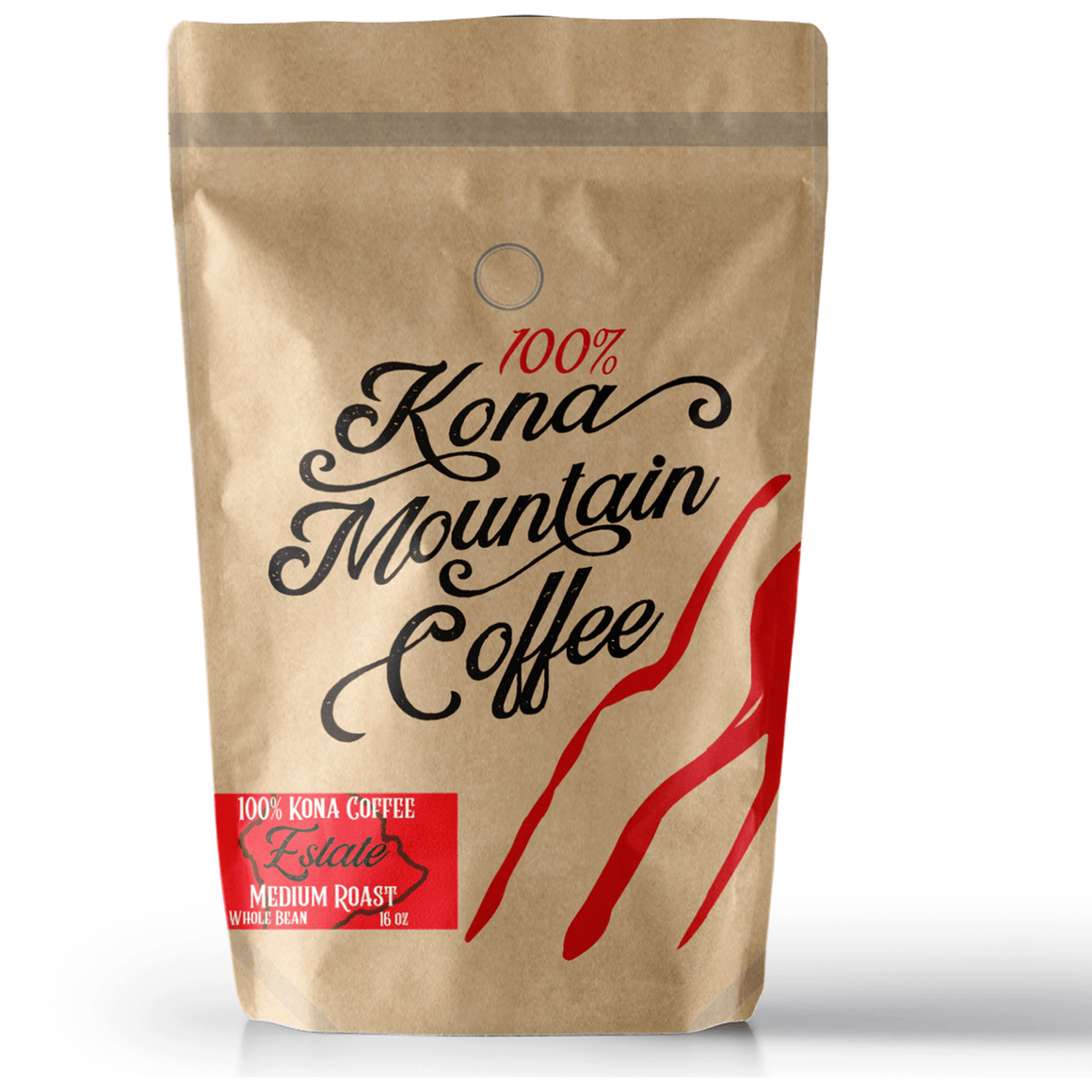 100% Kona Coffee Estate Medium Roast - Kona Mountain Coffee