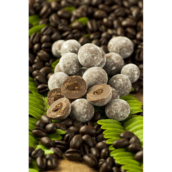 Chocolate Covered Kona Peaberry Coffee Beans - Kona Mountain Coffee