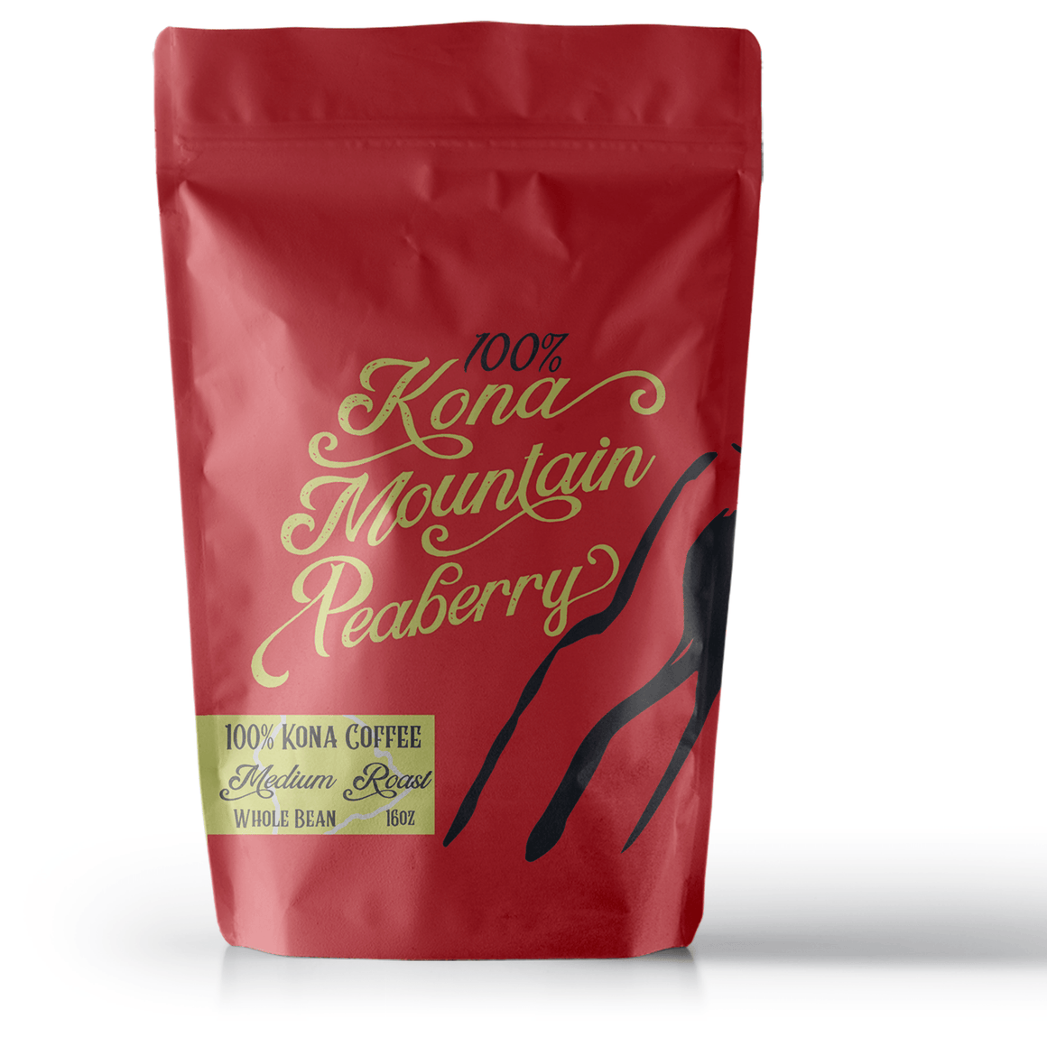 100% Kona Coffee Peaberry Medium Roast