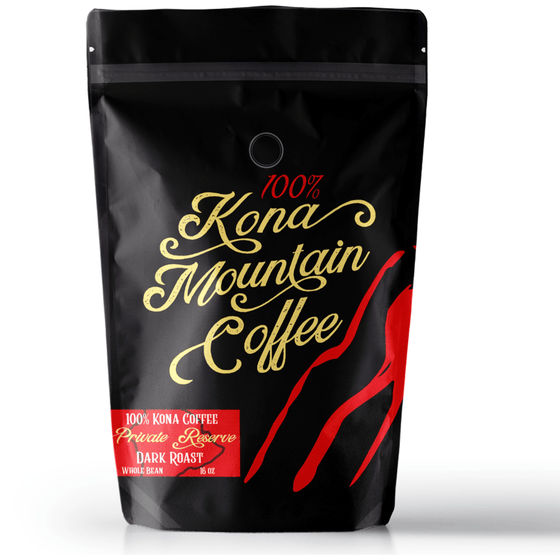 100% Kona Coffee Private Reserve Dark Roast