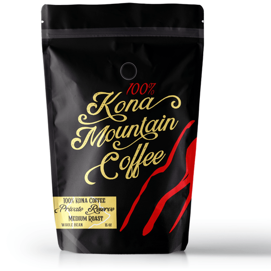 100% Kona Coffee Private Reserve Medium Roast