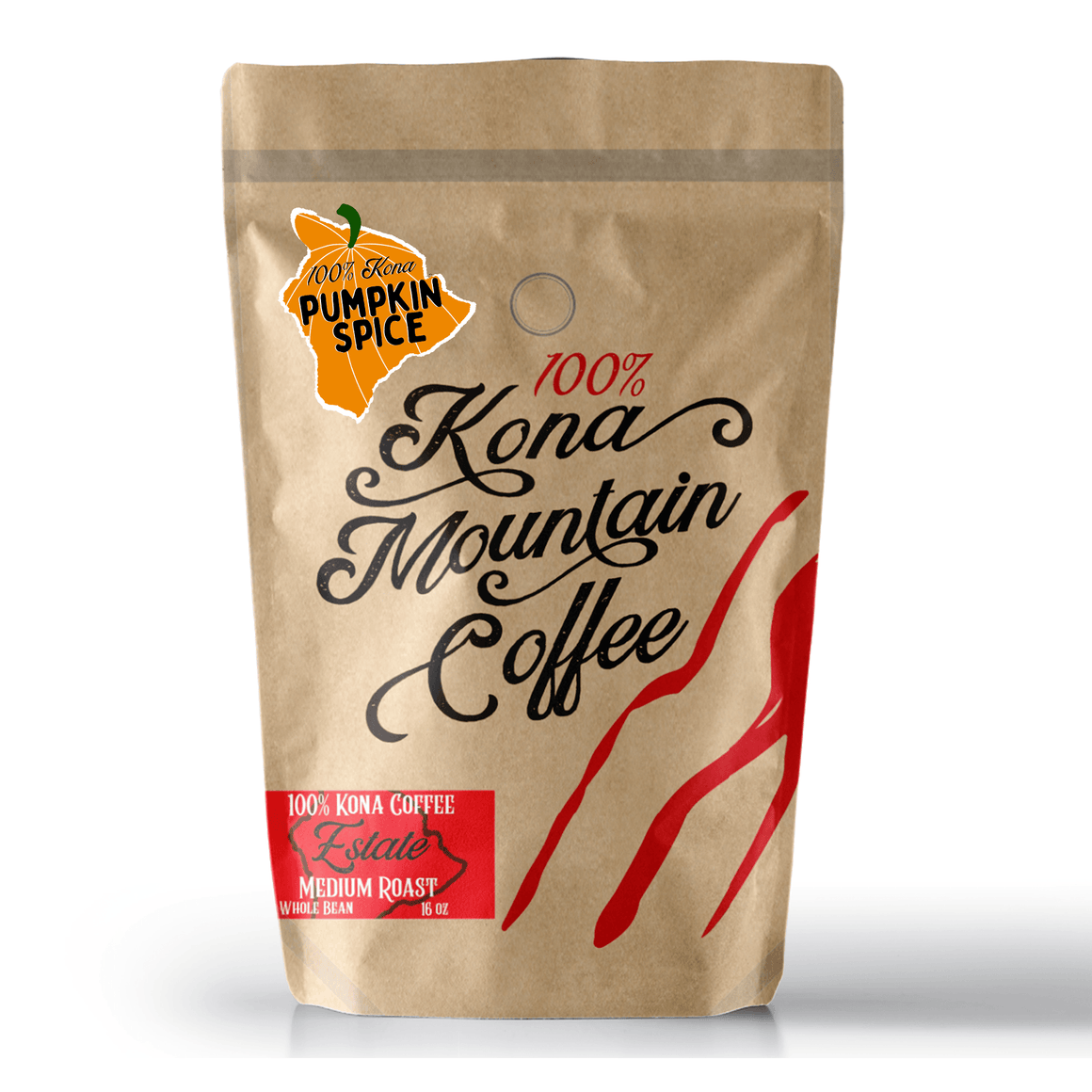 100% Kona Pumpkin Spice Coffee