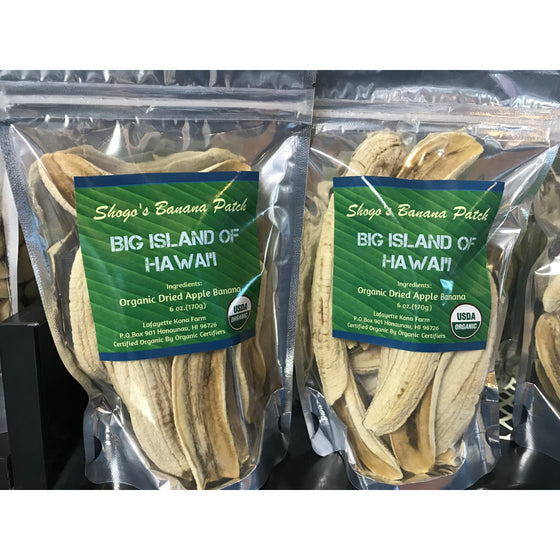 Organic Dried Apple Banana